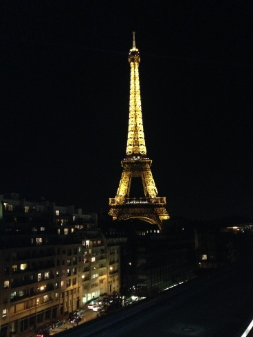 View from Les Ombres